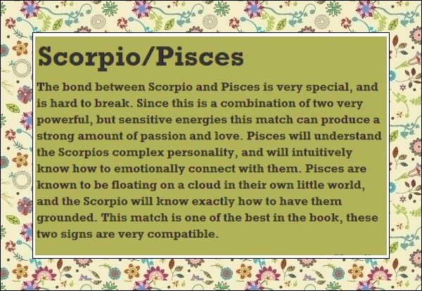 pisces friendship | Pisces and Scorpio Astrological