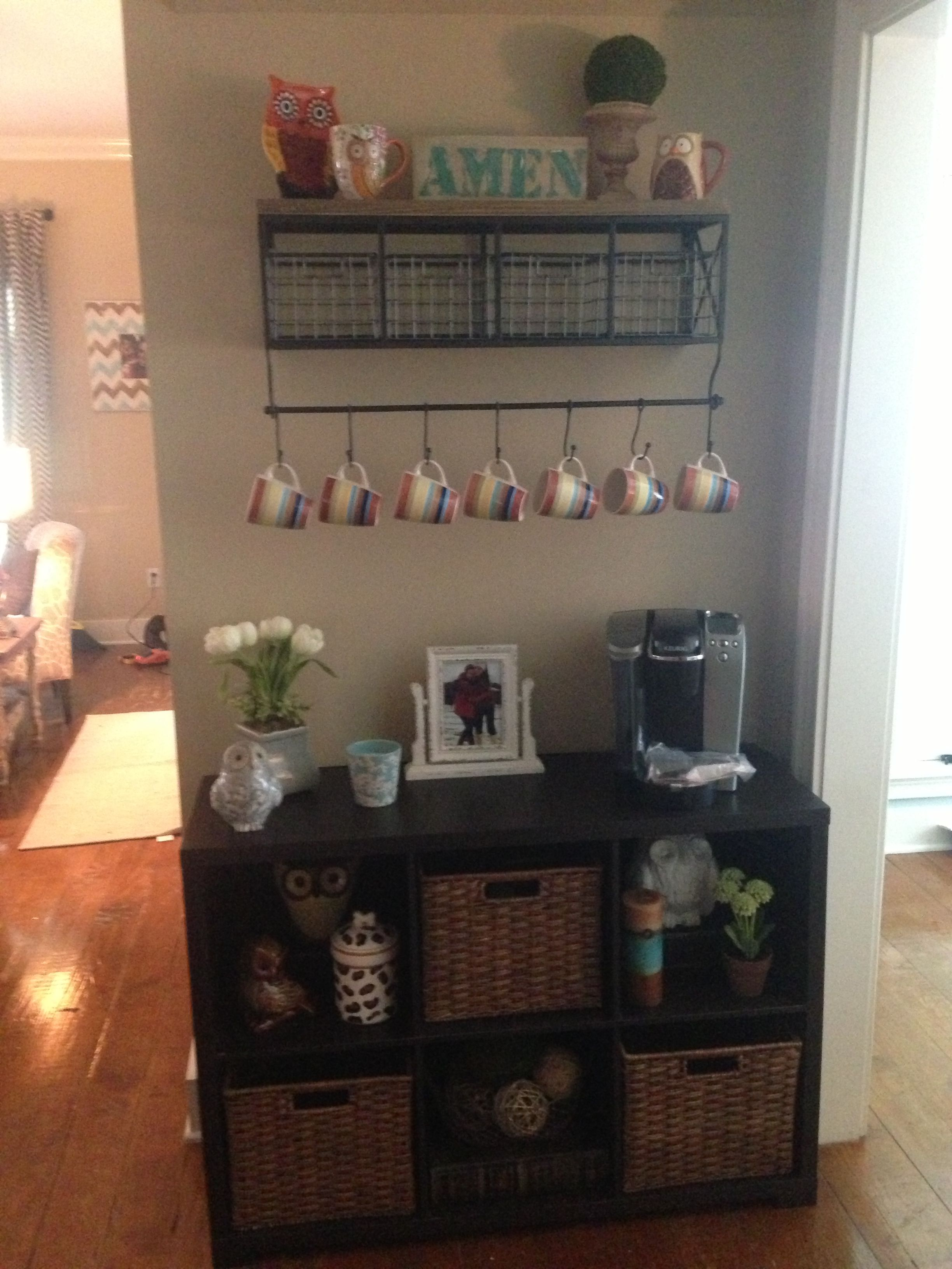 Another Cute Idea For A Coffee Bar In Your House