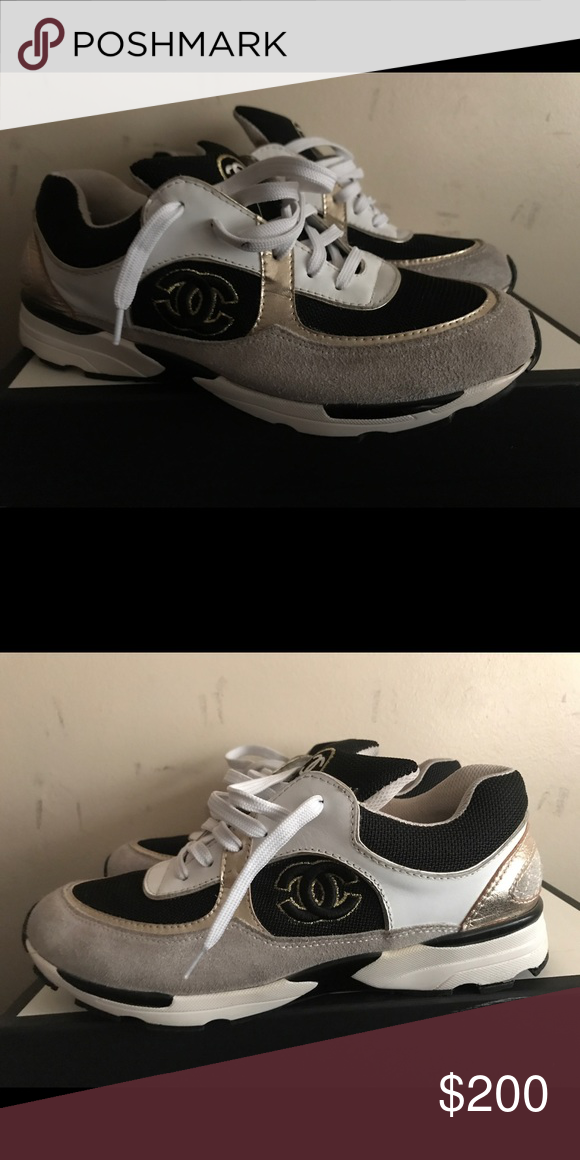 5ee72f45d4d Chanel men sneakers size 44 Comes with no box