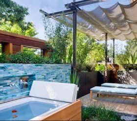 prgolas de aluminio para terrazas con techos en estructura con lona en posicin canoas para proteccin