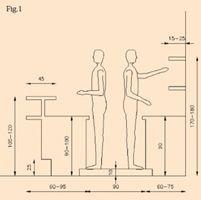 resultado de imagen de misure bancone bar dwg | counter ... - Arredo Design Dwg