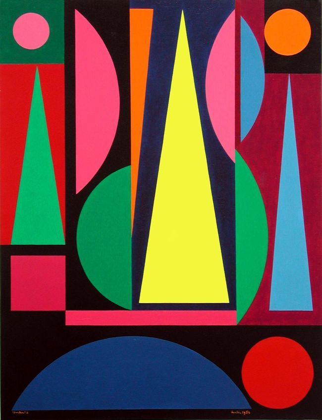 Exposition Auguste Herbin Paintings Modern Art And