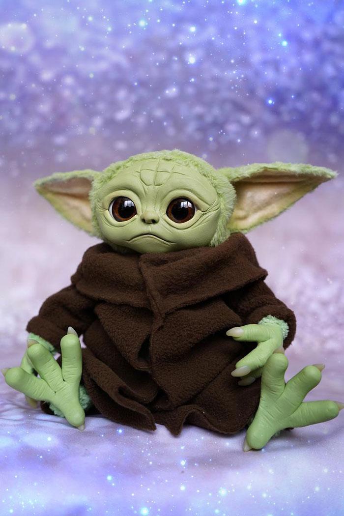Malenkaya No Uzhe Mogushestvennaya Zvezda Russkij Joda Mandalorian Yoda Images Clay Baby