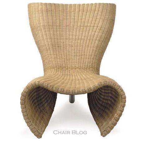 Marc Newson Wicker Chair (Christie's)