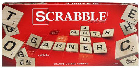 Hasbro Scrabble Game French Version | Products | Games