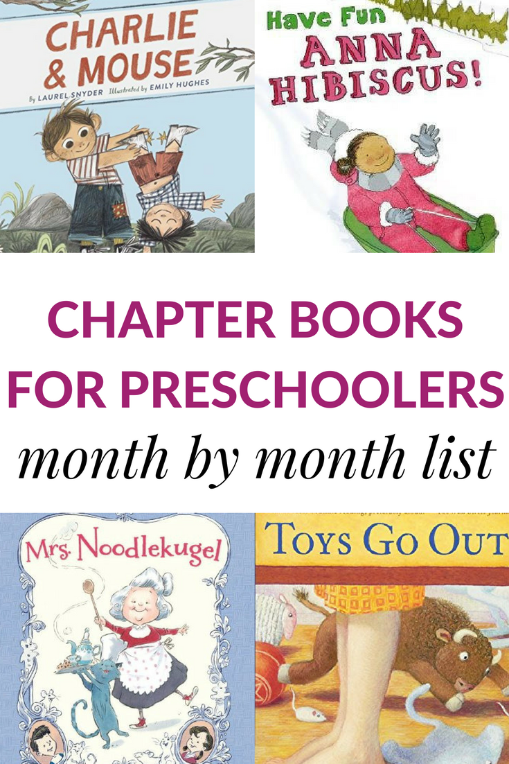 A month by month guide to the best read-aloud chapter books to read to  preschoolers. These chapter books for preschoolers will keep the kids'  attention and ...