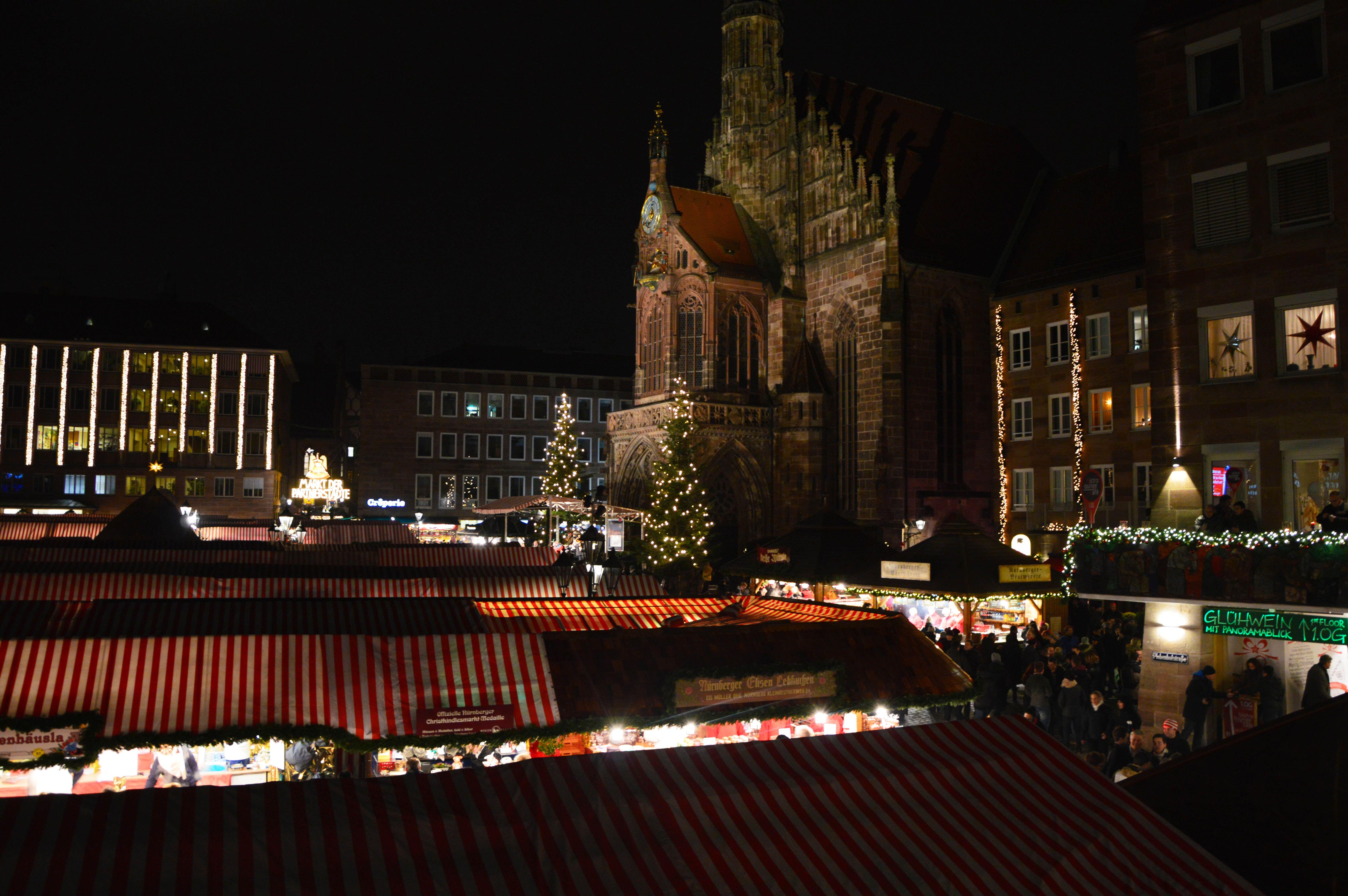 Mercadillo navideño Núremberg