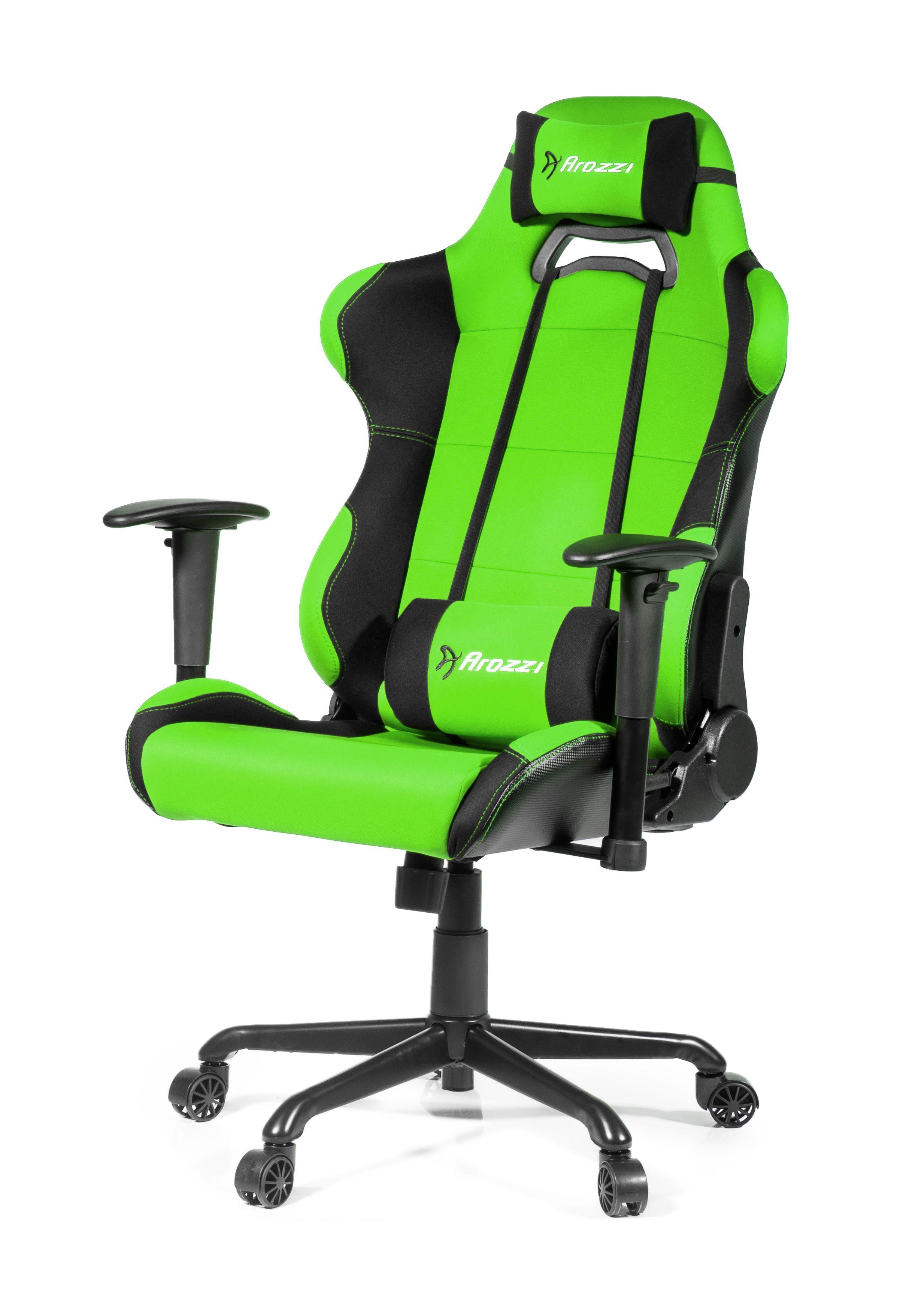Геймърски стол arozzi torretta xl green цена и характеристики