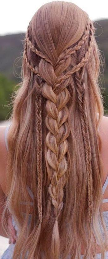Pin Von Syeda Ahmed Auf Hair Zopf Lange Haare Frisuren Pinterest Frisuren