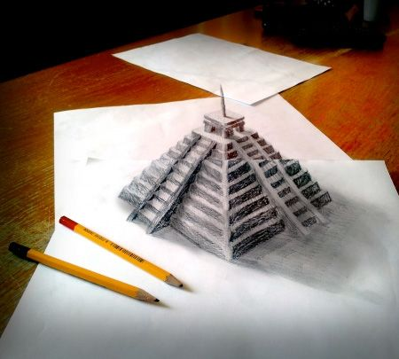 AMAZING 3D PENCIL DRAWINGS | Shutters View | 3d | Pinterest | It ...