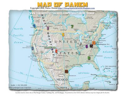 Another map of panem hungergameslessons hunger games another map of panem hungergameslessons gumiabroncs
