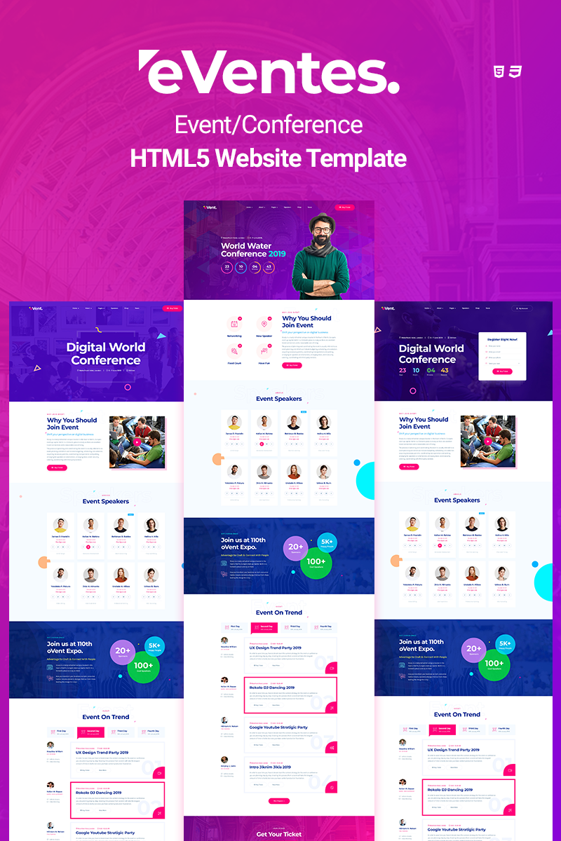 25 Best technology template design for August 2020