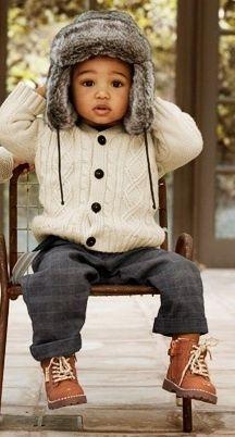 Little Man cozy for fall! [ BedsideHealers.com ] #fashion #comfort #healer