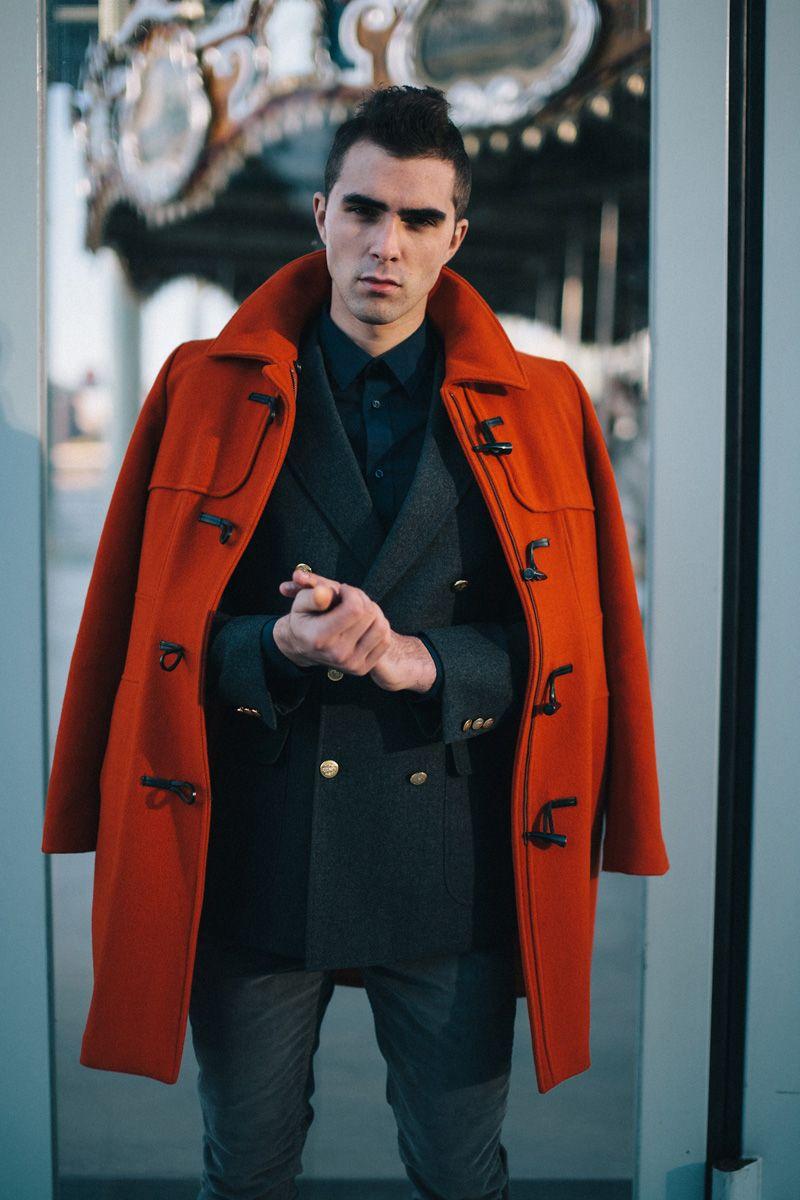 Dufflecoat #dufflecoat #coat #red