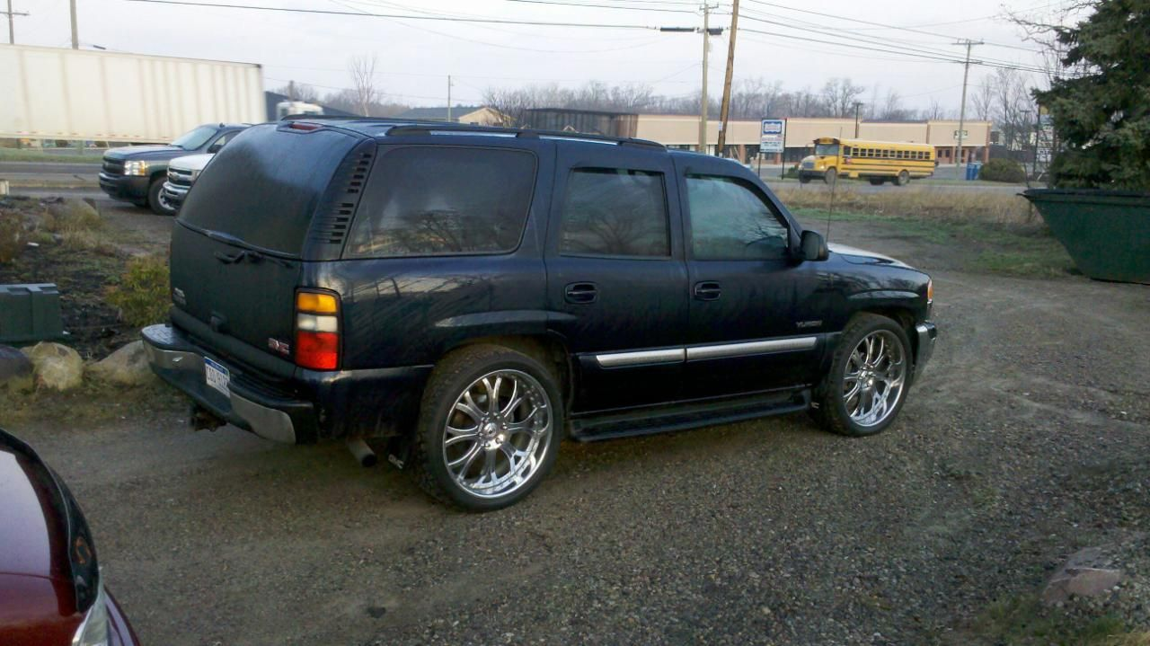 Lowered Yukon Thread 2005 Yukon Lowered With Asanti 24 S 2005