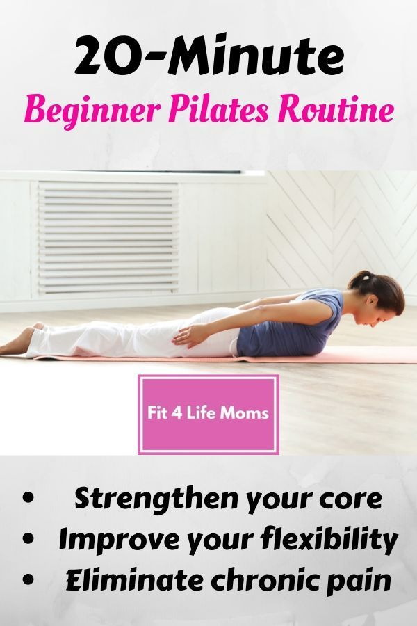 At Home Classical Pilates Workout for Beginners