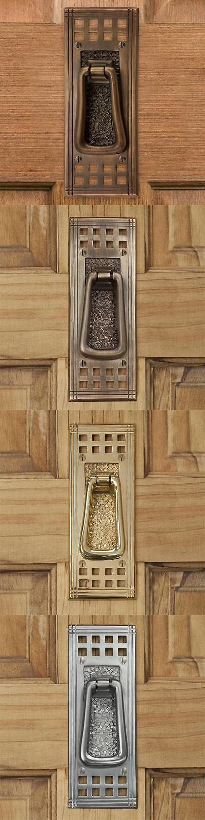 Door Knockers 180965: Signature Hardware Mission Brass Door Knocker -> BUY IT NOW ONLY: $49.95 on eBay!