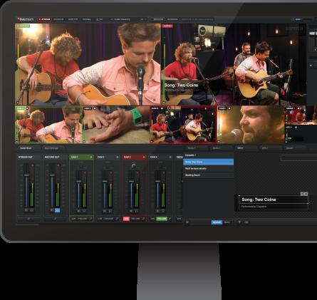 Livestream Studio™ Software | Tv | Studio software, Software