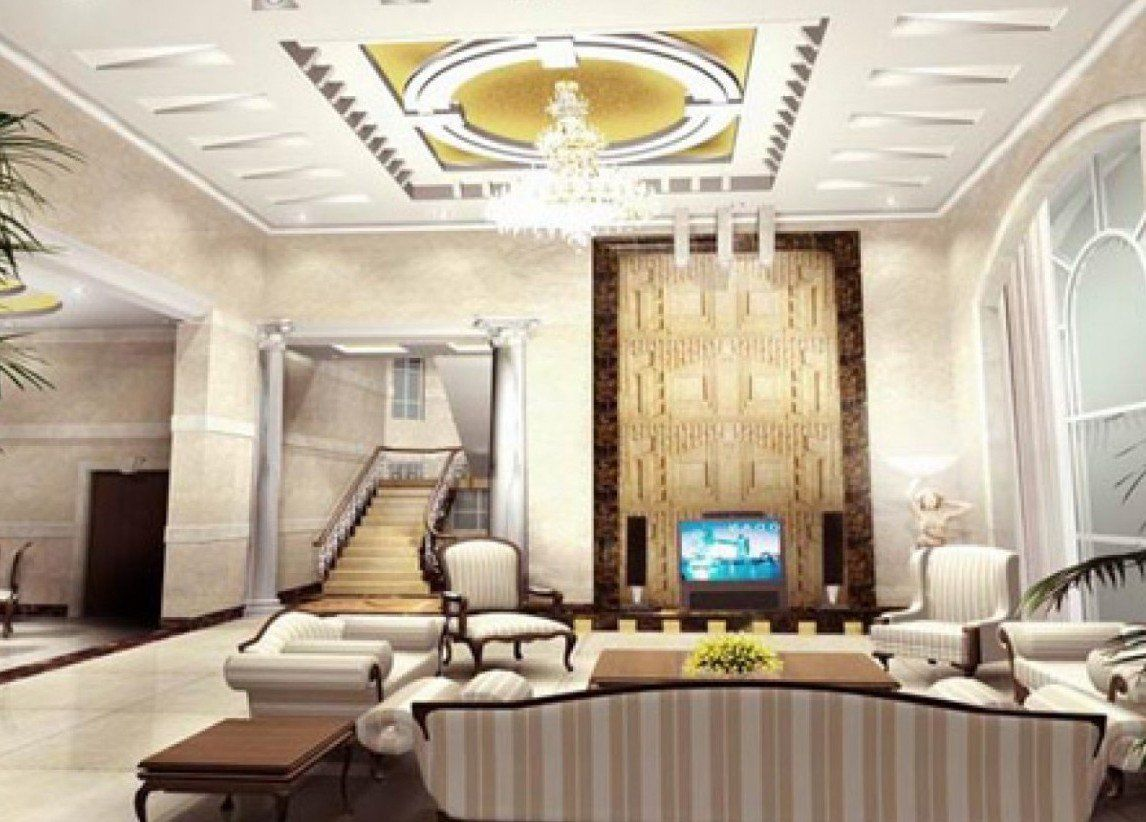 Beautiful Living Rooms Designs Extraordinary Ceiling Designs For Your Living Room  Elegant Living Room 2018