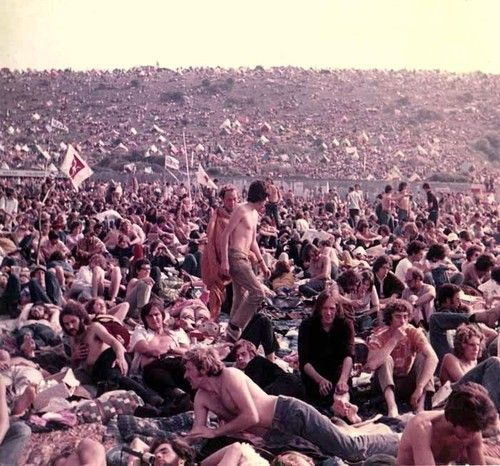 Isle Of Wight Festival 1970 Isle Of Wight Festival Woodstock Rock Festivals
