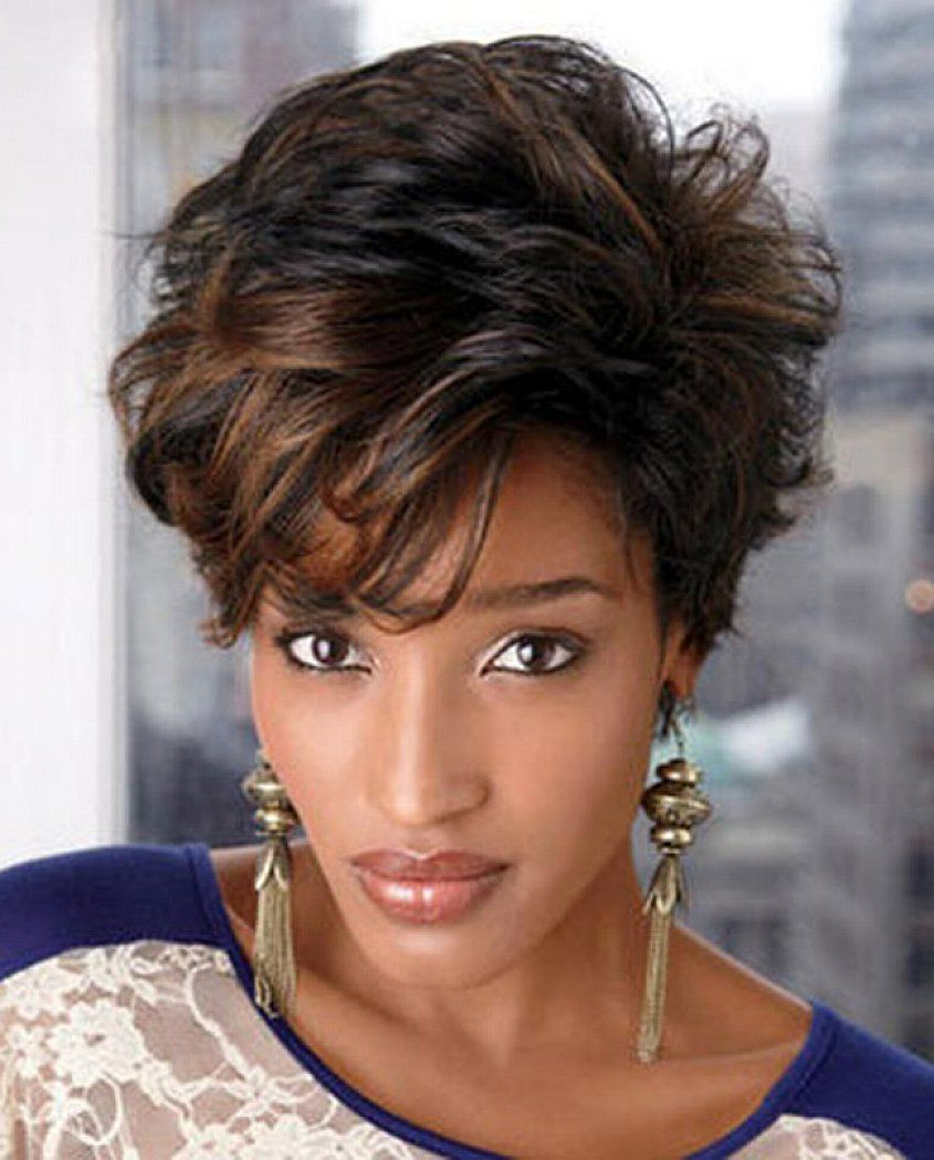 Black women with highlighted hair - Short Hairstyles For Black Women 2014 Are The Compilation Of The Best Hairstyles For Black Women You Can Find Out There Those Compilations Should Consist