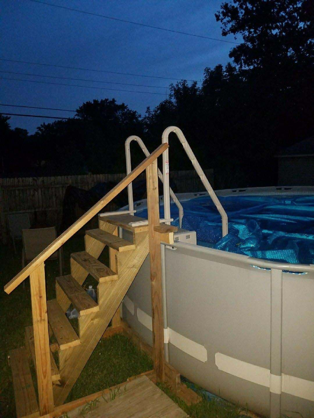 How to open an above ground pool for the first time in