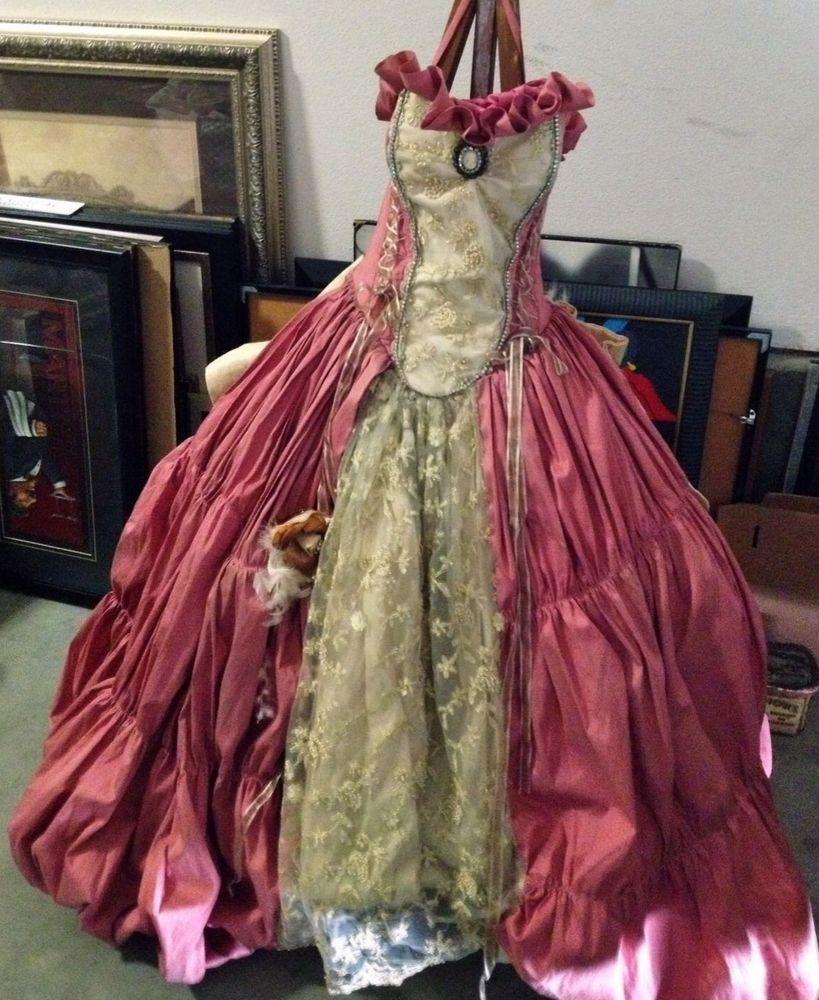 Discount Vintage Celtic Gothic Corset Wedding Dresses With: Renaissance Elizabethan Wedding Medieval Corset Mauve