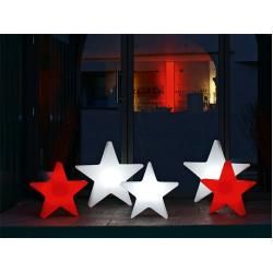 Photo of Outdoor lamp Shining Star 8 seasons design white, designer 8 seasons design GmbH, 57x54x12 cm 8 Seas