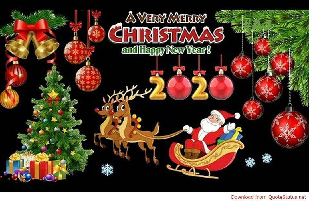 Merry Christmas 2019 And Happy New Year 2020 Whatsapp Status Video