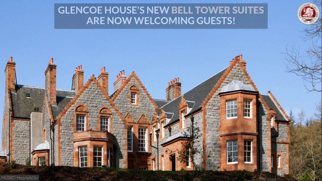 Glencoe House's New Bell Tower Suites - Scotland