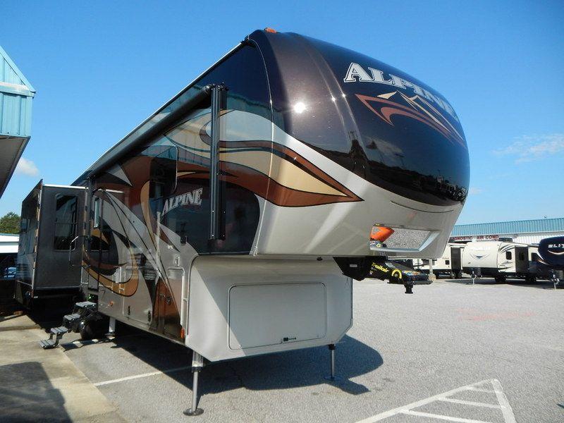 2017 Keystone Rv Alpine 3535re 3536re Stock N500 17 Tac Trailer