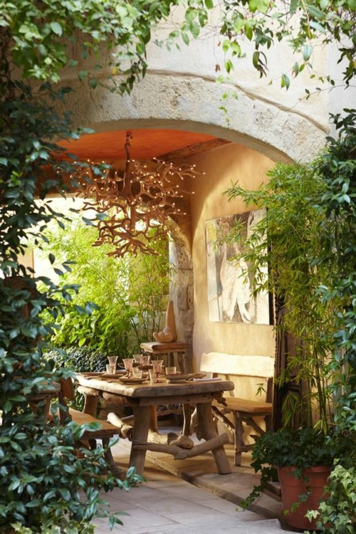 Comment Faire Une Arche De Jardin. Jardin Recup Un Jardin De Cageots ...
