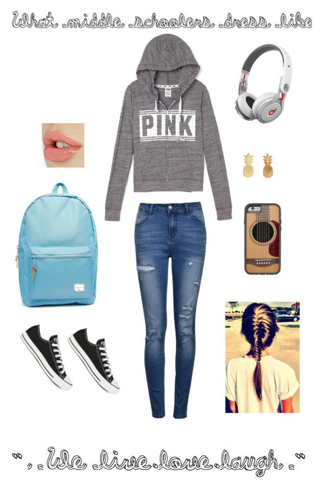 Average Clothes Middle Schoolers Wear Polyvore Cute Middle