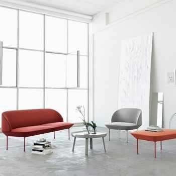 Muuto Oslo sofa, 2-seater | Sofas | Furniture | Finnish Design Shop