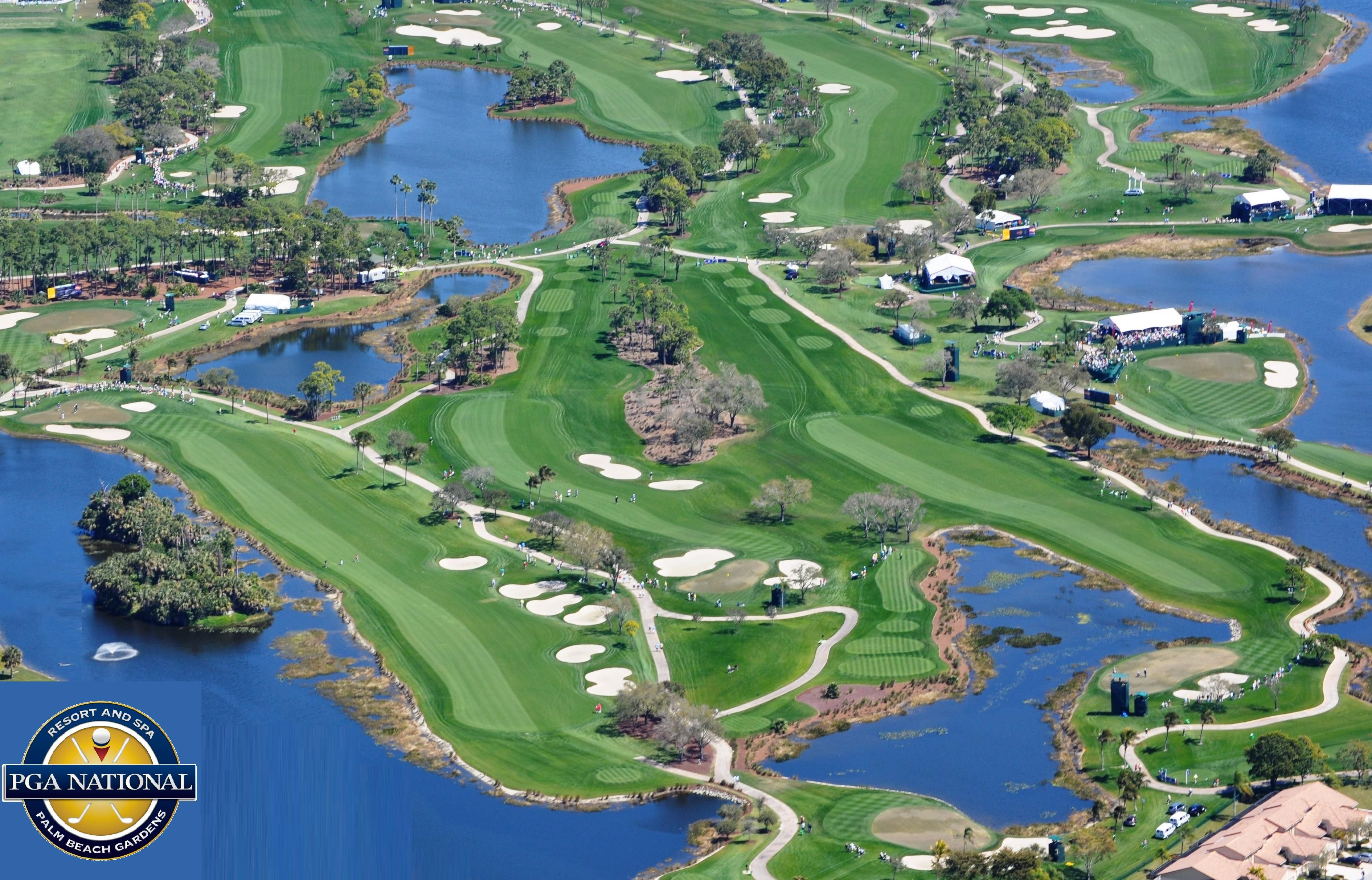 Aerial of the Honda Classic #Golf #PGANational | Golf Paradise ...