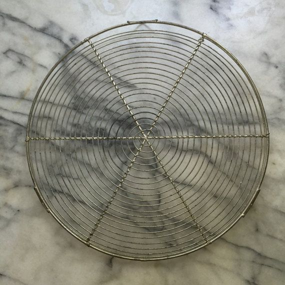 11 French Vintage Cooling Rack Round Cake Rack French Pastry Display Antique Wirework Round Wire Rack French Vintage Tools And Accessories Cooling Racks