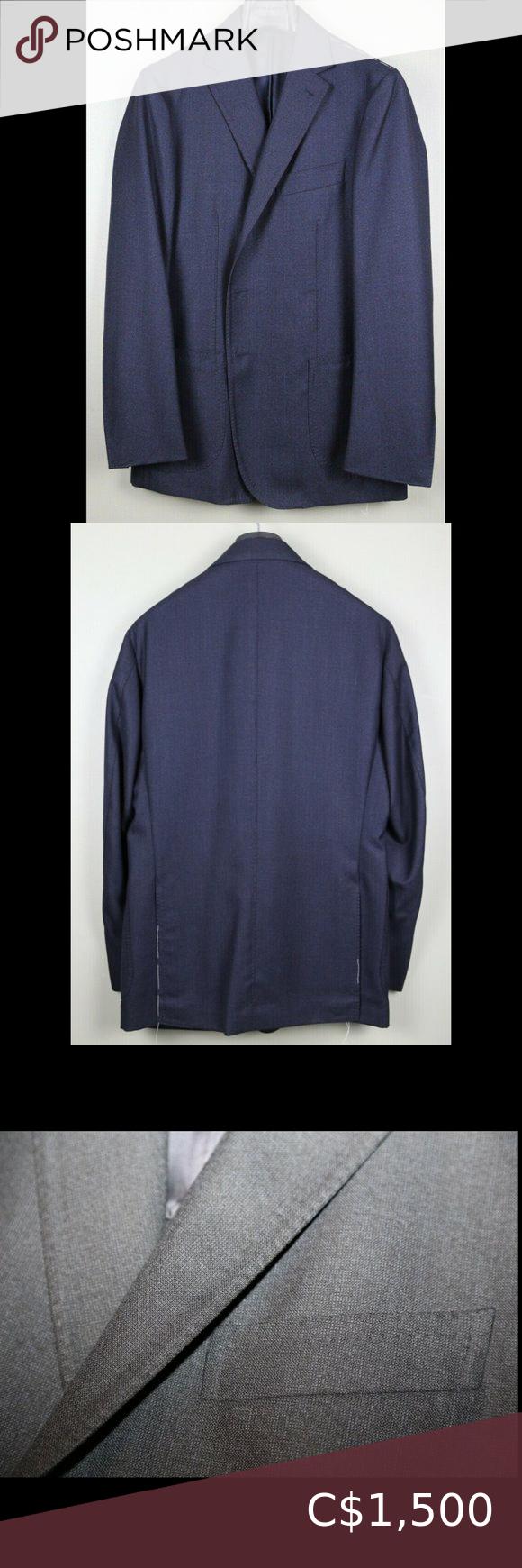 NWT $5K Stile Latino 40US Wool Sport Jacket