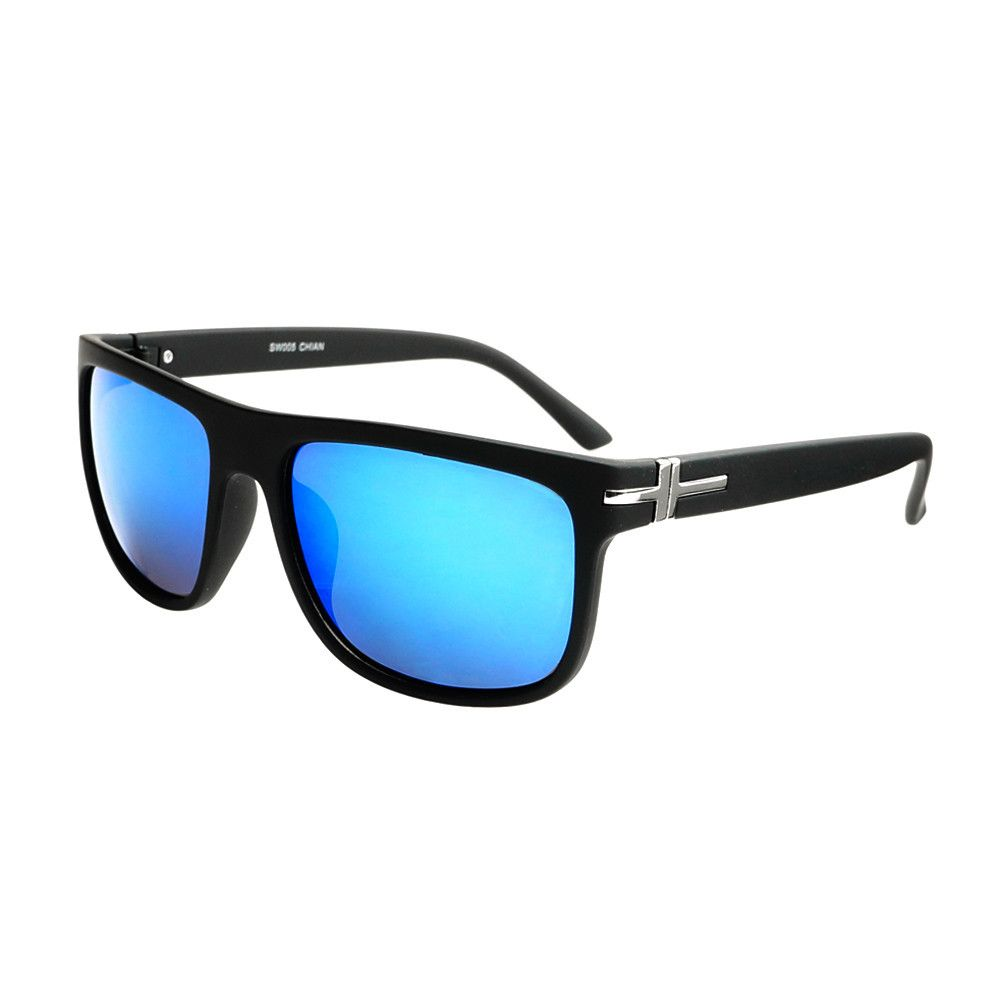 8a8ae136b12 Mirror Lens Unisex Fashion Square Flat Top Shades Matte Black FT79 – FREYRS  - Beautifully designed