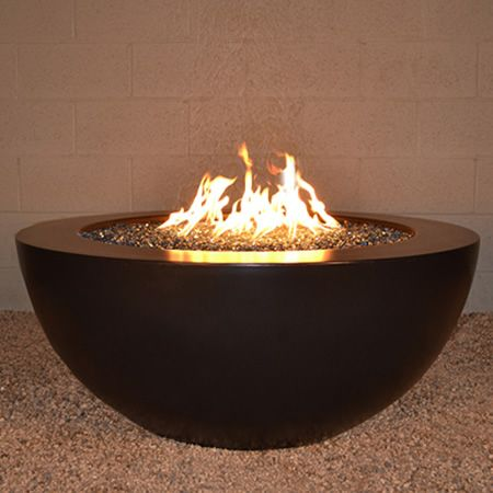 Woodland Direct 42 Sumaco Manual Ignition Fire Pit Concrete