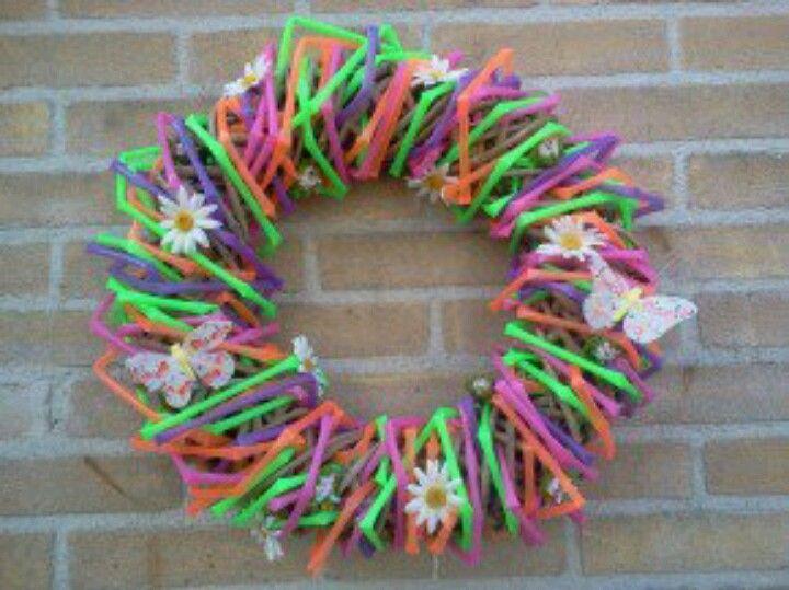 Rietjes moederdag pinterest rietjes zomer en lente for Gekleurd papier action