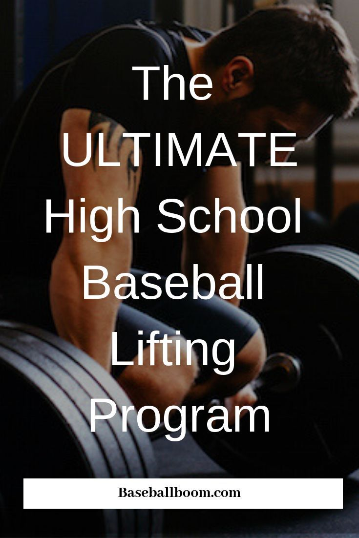 Photo of The Ultimate High School Baseball Lifting Program – Baseball Boom