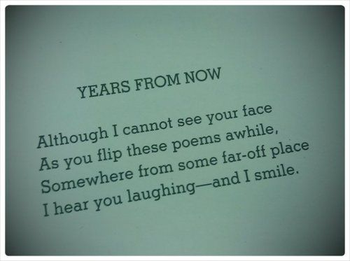 "Shel Silverstein Reading Quotes: Shel Silverstein ""Years From Now"""