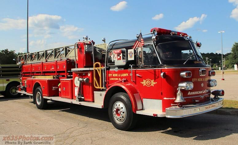 American Lafrance 900 Series 85 Mid Mount Aerial With Images