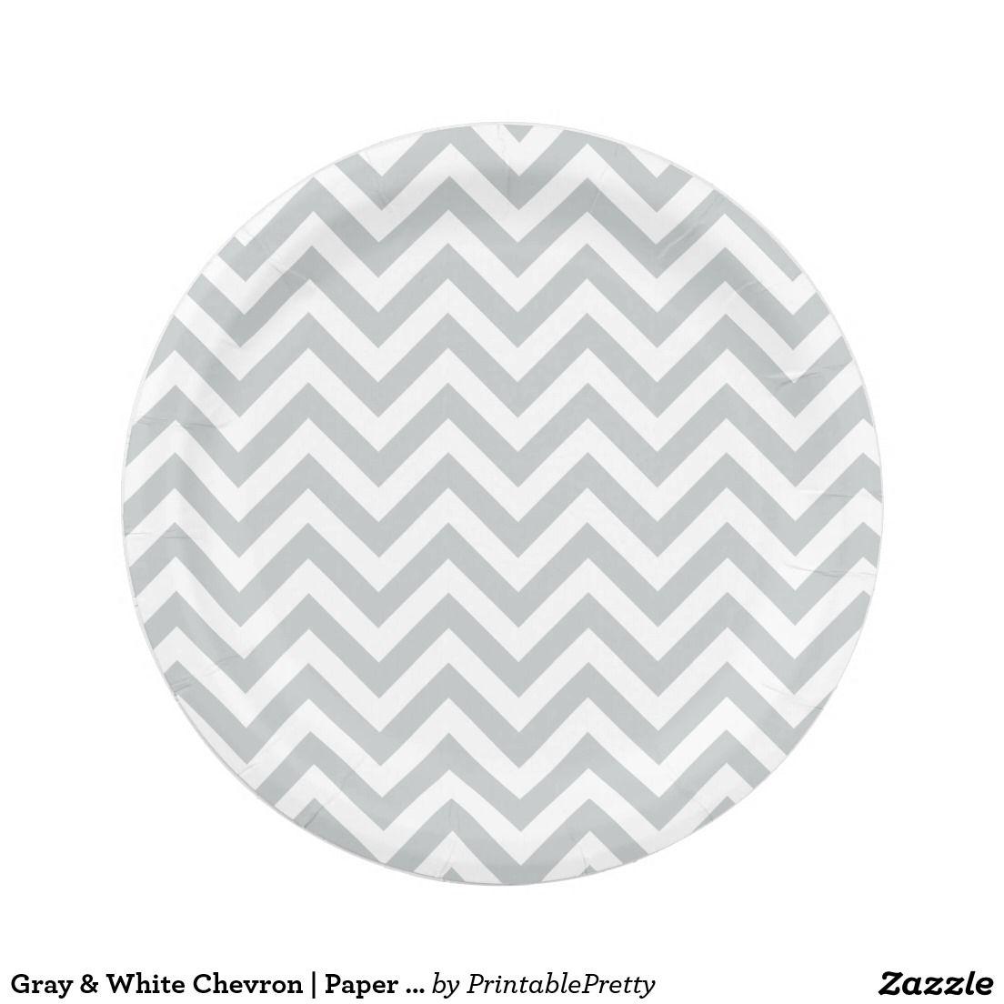 Gray u0026 White Chevron | Paper Plates | Custom Party PAPER PLATES ... Gray White Chevron Paper Plates Custom Party PAPER PLATES  sc 1 st  Best Image Engine & Astounding Grey And White Chevron Paper Plates Photos - Best Image ...