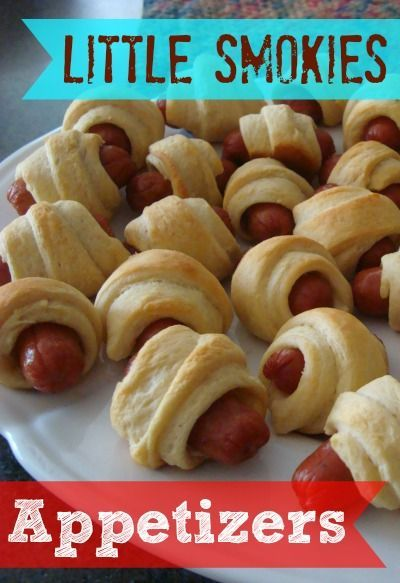 check out little smokies appetizers. it's so easy to make