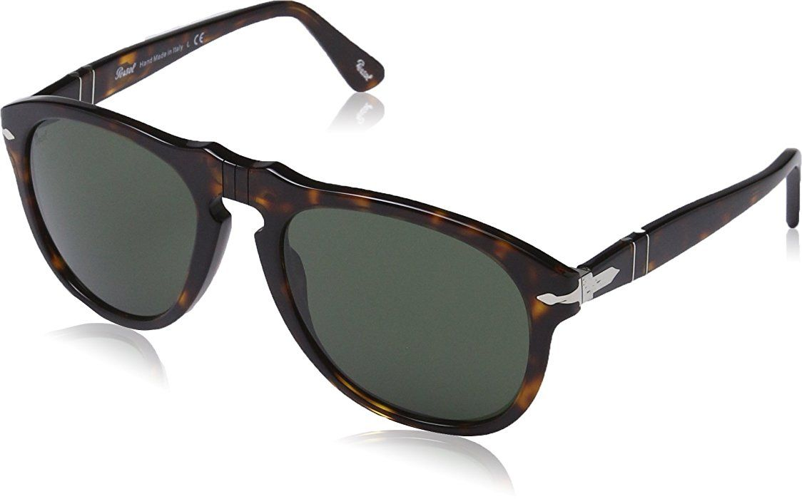 Persol Unisex Aviator Sonnenbrille Mod. 0649 Sole, Gr. 52 mm, 901957