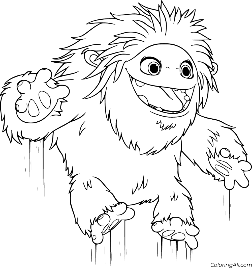 5 Free Printable Abominable Coloring Pages In Vector Format Easy To Print From Any Device In 2020 Coloring Pages Cartoon Coloring Pages Free Printable Coloring Pages