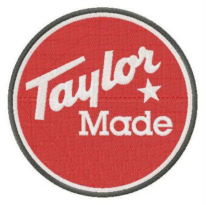 Taylormade Golf Company Logo Embroidery Design Embroidery Designs Embroidery Logo Bernina Embroidery Machine