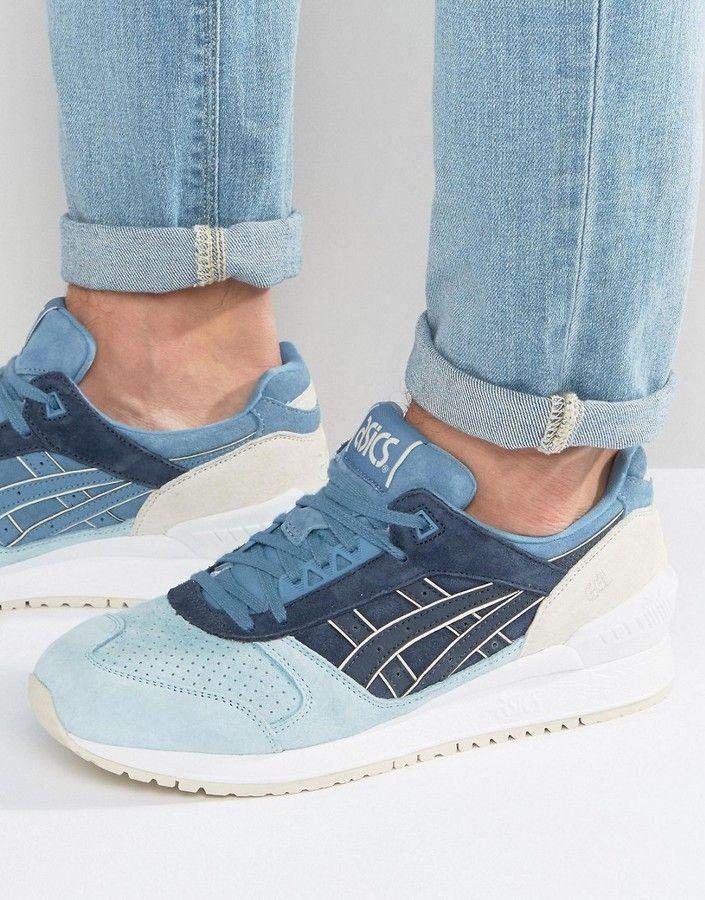Sneakers Asics Gel Respector Respector En Daim Bleu 18667 5858 H720L 5858 | bbb1d04 - sbsgrp.website