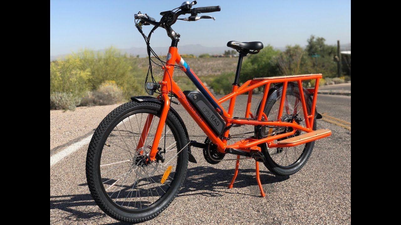 Rad Power Bikes Radwagon Electric Cargo Bike Review Electric Bike Report Electric Cargo Bike Power Bike Bike Reviews